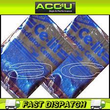 2 x Ce-Lit Car Radiator Water Pump Cylinder Block Stop Leak Cement Packet Sachet