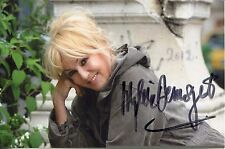 MYLENE DEMONGEOT autographed 4x6 color photo           BEAUTIFUL FRENCH ACTRESS