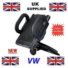 VW Car Mobile Phone iPhone GPS MP3 Holder fits in CD Slot non suction style 1