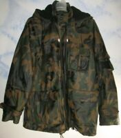 Wilsons Leather SZ XL Julian Camouflage Military Leather Tactical Jacket Fleece