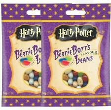 Harry Potter Bertie Bott's Every Flavour Jelly Belly Beans x 2 - (54g x 2 Packs)