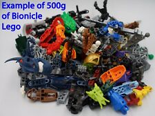 LEGO Bionicle - 500g of Mixed Spare Parts Pieces Weapons - Job Lot Bulk -