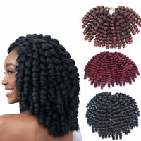 10inch Hair Extension Jumpy Wand Curl Twist Crochet Braids Synthetic Hair Bounce
