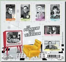 Feuillet F4811 - Les pionniers de la télé - 2013