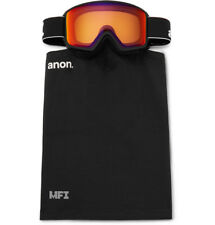 c10f228caeed  250 ANON M3 Ski Goggles and Stretch-Jersey Face Mask Burton Orange