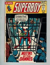 """Superboy #186 (May 1972, DC)! FN/VF7.0+! """"Mutiny of the Damned"""" Bronze age DC!"""
