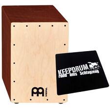 MEINL Percussion JC50LBNT Jam Cajon KEEPDRUM Seat Pad