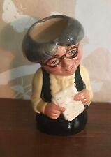 Royal Doulton Doultonville Character Jug, Miss Studious The Schoolmistress