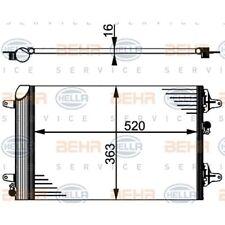 HELLA Kondensator, Klimaanlage 8FC 351 301-524