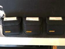Tiffen 4x4 Filter Set Qty 3 w/ ProMist 1/4 & 2, Polarizer Filters w/ cases