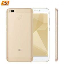 Teléfonos móviles libres Xiaomi Redmi 4X color oro con conexión 4G