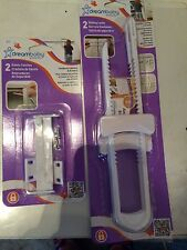 Dreambaby Set Of 2 Sliding Locks And 2 Safety Catches