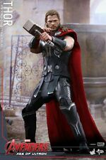"HOT TOYS Avengers 2 Age of Ultron Thor 4.0 Chris Hemsworth 12"" Figure IN STOCK"