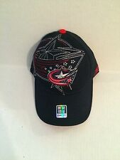 Columbus Blue Jackets Reebok Flex fit hat S/M Blue