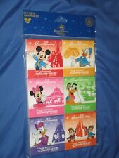 DISNEY SHANGHAI Notepad Set DISNEY Exclusive ~Mickey/Minnie/Donald Duck/Goofy +
