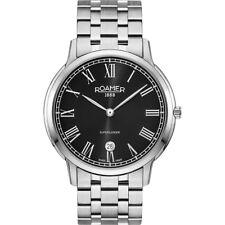 Roamer SUPERSLENDER Silver Stainless Steel Men's Quartz Watch 515810 41 52 50