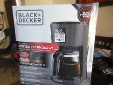 Black Decker 12 Cup Prog.  Coffee Maker with VORTEX  TECH.  ** Free  Shipping