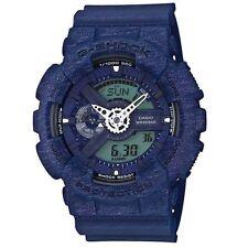 Casio G-Shock Men's Heathered Blue Ana-Digital Watch GA110HT-2A
