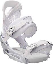 Burton Femme Lexa Est Fixations Snowboard (M) Thats Blanc