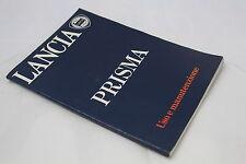 [H25-010]LIBRETTO USO E MANUTENZIONE - LANCIA PRISMA - 4A EDIZIONE - BUONO
