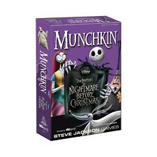 Munchkin The Nightmare Before Christmas Game BRAND NEW and SEALED Out Of Print