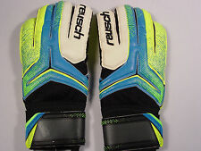 Reusch Soccer Goalie Gloves RE:CEPTOR Prime S1 3570201S Blue&Yellow SZ 9 SAMPLE