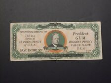 1933 Dietz Gum Presidents Play Bucks - Herbert Hoover - $100 variety