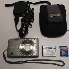 Olympus VG 140 14.0MP Digital Camera Silver HD Movie Function Bundle