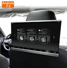 "12.5"" HD Car Seat Headrest Monitor Speaker Android 7.1 Octa Core Wifi USB OBD FM"