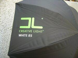 "Creative Light 85cm 33"" Studio Umbrella Softbox WHITE 85"