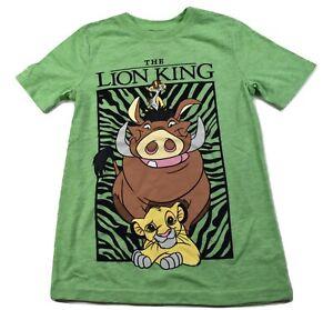 Jumping Beans Boys Disney The Lion King Simba, Timon, Pumbaa Tee Shirt New 4-12