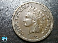 1872 Indian Head Cent Penny  --  MAKE US AN OFFER!  #B9048