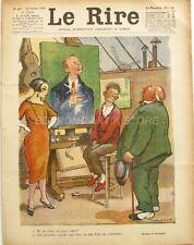 Le Rire n°403 - 1926 - Journal humoristique - Poulbot - Valério - Harry - Nob
