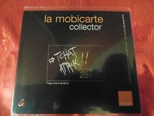 RARE - ENCART MOBICARTE COLLECTOR - TCHAT ATTACK - NEUF & LUXE - Côte ? Euros