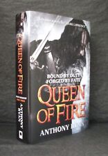QUEEN OF FIRE Anthony Ryan SIGNED UK 1st ED HB/DJ Ravens Shadow 3 BLOOD SONG