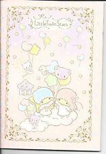 Sanrio Little Twin Stars Composition Notebook Bear Balloon