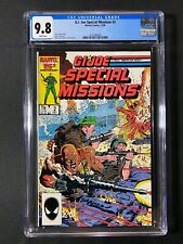 G.I. Joe Special Missions #2 CGC 9.8 (1986)