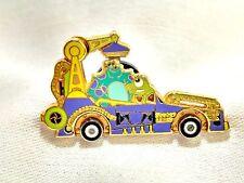 Walt Disney Monster Inc. #8560 Sulley Mike Motor Car Parade Pinback Pin Brooch