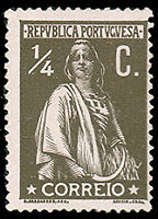 Portugal #207 MHR CV$8.00 (Chalky Paper) Ceres