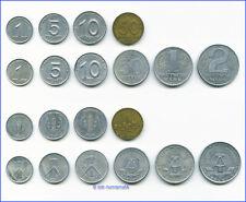 Die ersten DDR-Münzen 1948-1958 *** Alle 10 Münz-Typen !