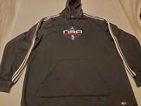 Memphis Grizzlies Adidas Hoodie ClimaWarm NBA Basketball Sweatshirt XLT Black