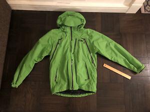 Outdoor Research Vanguard GORE-TEX Ski/Snowboard Jacket - Green - Men's Small