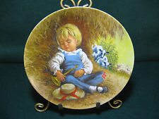 """Reco Mother Goose Series Collector Plate """"Little Boy Blue"""""""