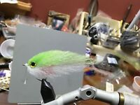 Saltwater Fly mullet Fly ep Baitfish Size 2/0 Tarpon,Snook,Striped bass