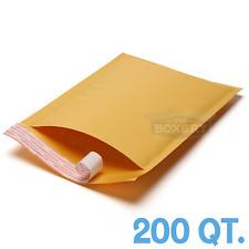 200 1 Kraft Bubble Padded Envelopes Mailers 725 X 12