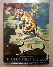 IL LIBRO DELLA JUNGLA KIPLING 1960 MASSONI