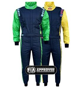 STR Club V2 Race Suit Triple Layer FIA Approved - Ideal for Rally/Circuit Racing