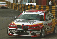 Autógrafo en foto 13x18 cm macao 2003 franz engstler-BMW 320i