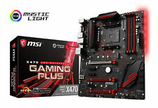 MSI X470 GAMING PLUS Socket AM4 AMD X470 SATAIII 6Gb/s USB3.1 ATX Motherboard