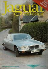 1989 MAY 51708 Jaguar Enthusiast Magazine Cover Picture 1989 RAFFLE PRICE
